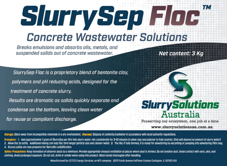 Concrete Wastewater Treatment