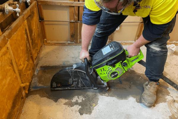 Dust Free Concrete Cutting