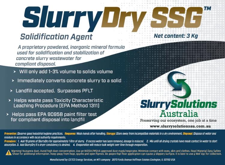 Slurry Solidifier